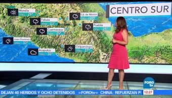 Ciudad de México, temperatura, probabilidad, lluvias