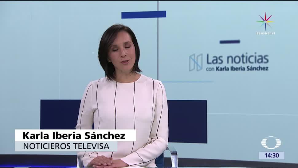 Noticias, televisa, Las noticias, con Karla Iberia, Programa, 25 de mayo 2017