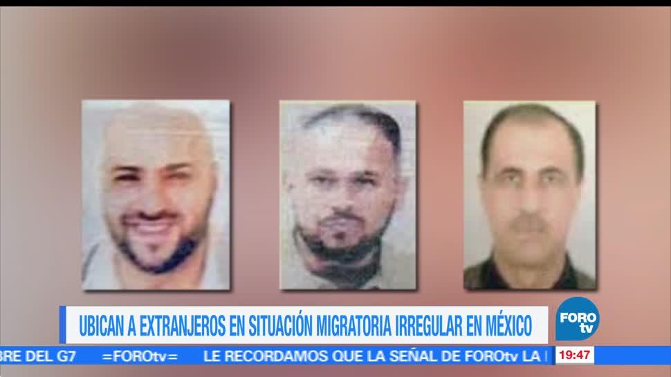 Detienen, extranjeros, CDMX, buscados por EU, yemenies, australiano