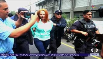 Detienen, lideresa, Marixa Ethelina Lemus Pérez, Guatemala