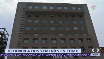 México, entrega, Estados Unidos, yemeníes