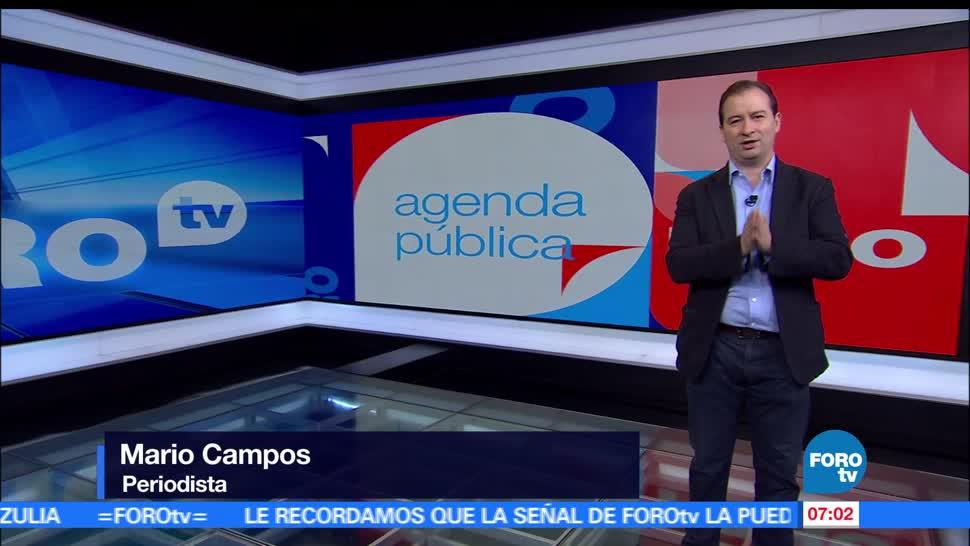 Agenda Pública, Programa completo, Mario Campos, FOROtv