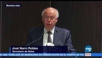 SSa, ecretario de Salud, José Narro, infarto al miocardio