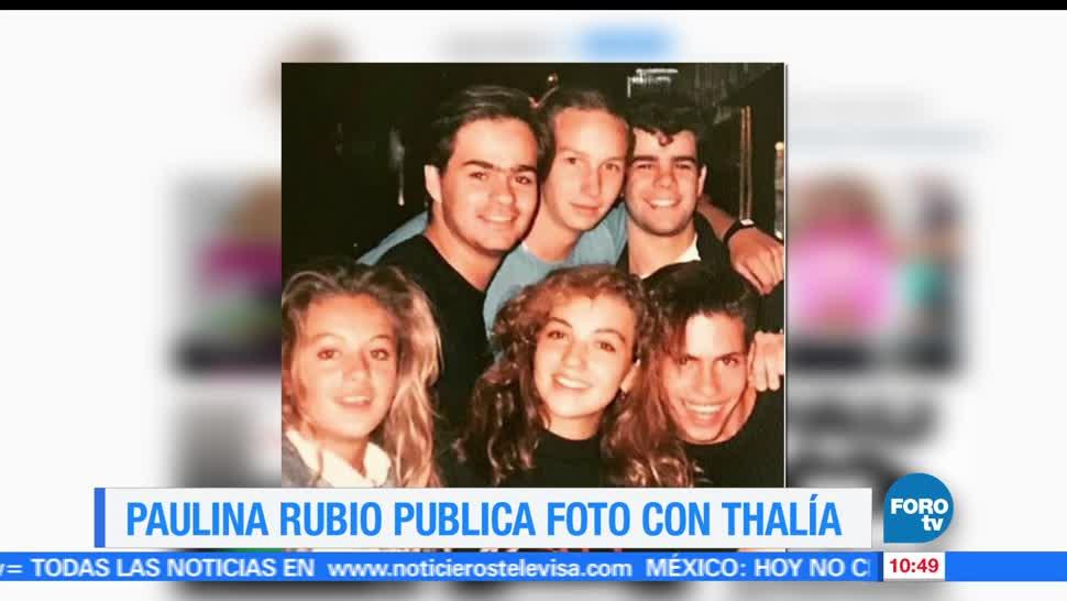 LoEspectaculardeME, Paulina Rubio, Thalía, cantante