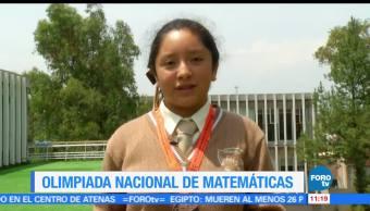 Olimpiada, Nacional, Matemáticas, Tlaxcala