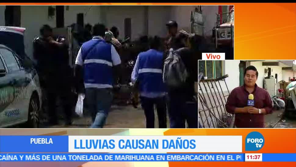 lluvias, Puebla, Junta Auxilia, daños