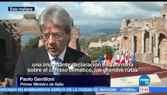 Premier italiano, Paolo Gentiloni, G7, encuentro fácil