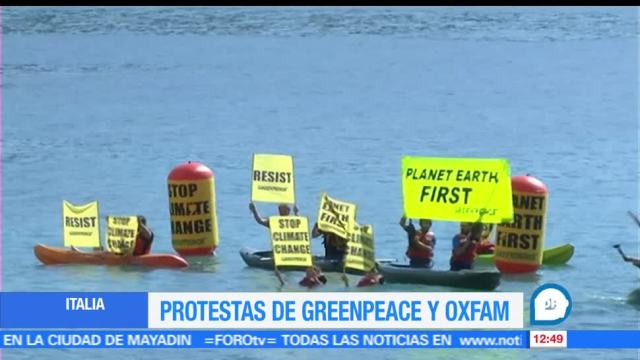 Greenpeace, Activistas, Oxfam, cambio climático