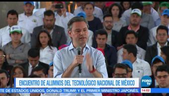noticias, forotv, Nuño, reúne, jóvenes, Tecnológico Nacional de México