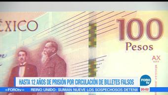 Banxico, detecta, billetes, $100, conmemorativos, falsos