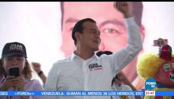 Juan Zepeda, visita, Ixtapaluca, Ayapango, Amecameca, PRD