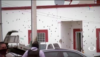 Comando, armado, ataca, Comandancia, Villa Ahumada, Chihuahua