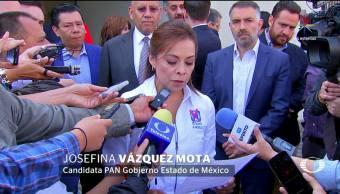 Josefina, Vázquez Mota, INE, hacerse cargo, elección Edomex, Elecciones Edomex