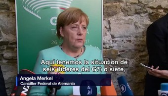 Decepciona, Angela Merkel, cambio climático, canciller alemana