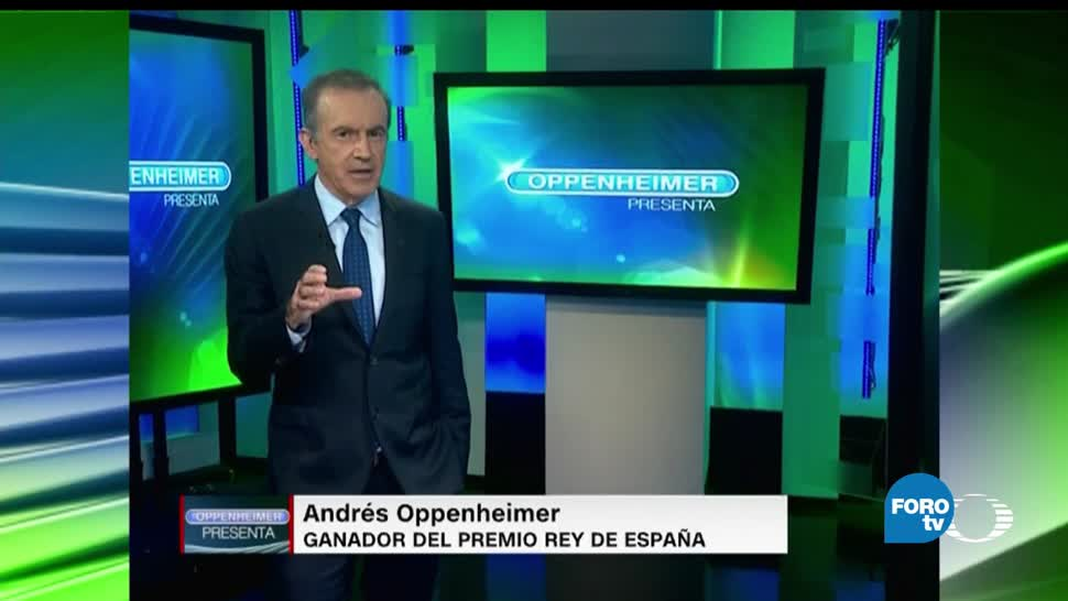 Andres Oppenheimer, Noticieros Televisa, FOROtv, Televisa News, Mesa de debate, Entrevistas