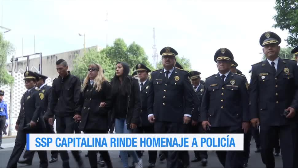 Rinde, homenaje, policía, Francisco Javier