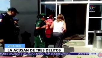 Gina Domínguez Colío, gobierno de Veracruz, administración de Javier Duarte, proceso