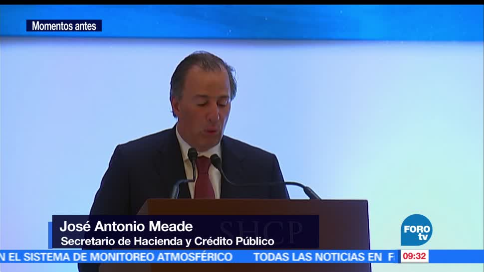 secretario de Hacienda, José Antonio Meade, foro global, Infrastructure Hub, México, inversión extranjera