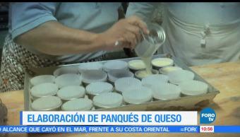 Enrique Muñoz, reportaje, elaboración, panqués de queso