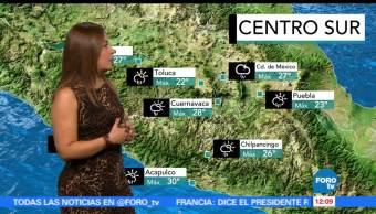 Ciudad de México, temperatura máxima, probabilidad, lluvia,