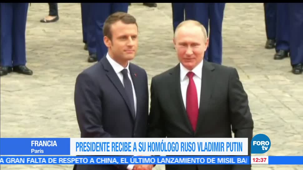 Francia, Emmanuel Macron, Rusia, Vladimir Putin