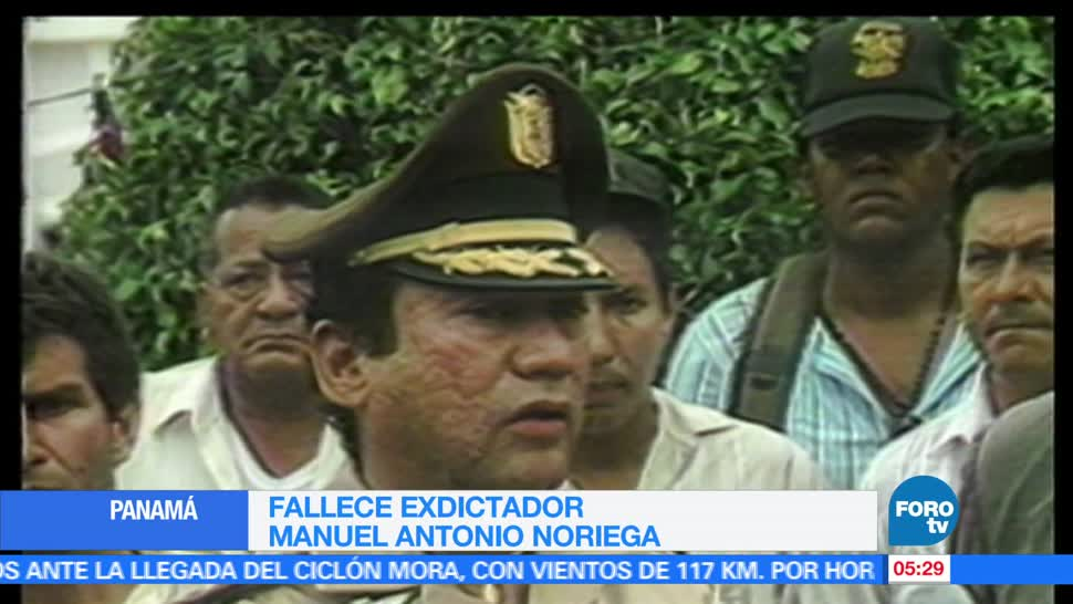 exdictador panameño, Manuel Antonio Noriega, 83 años de edad, 1983 y 1989