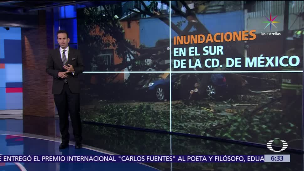 lluvia, sur de la CDMX, inundaciones en Tlalpan, Xochimilco, IEDF