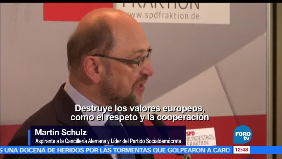 cancillería, Partido Socialdemócrata alemán, Martin Schulz, Donald Trump