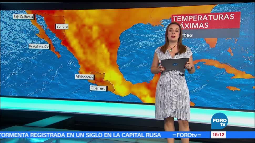 El clima, Raquel Méndez, revén, tormenta