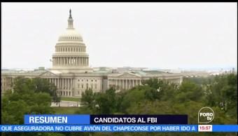 Trump, entrevista, candidatos, dirigir el FBI