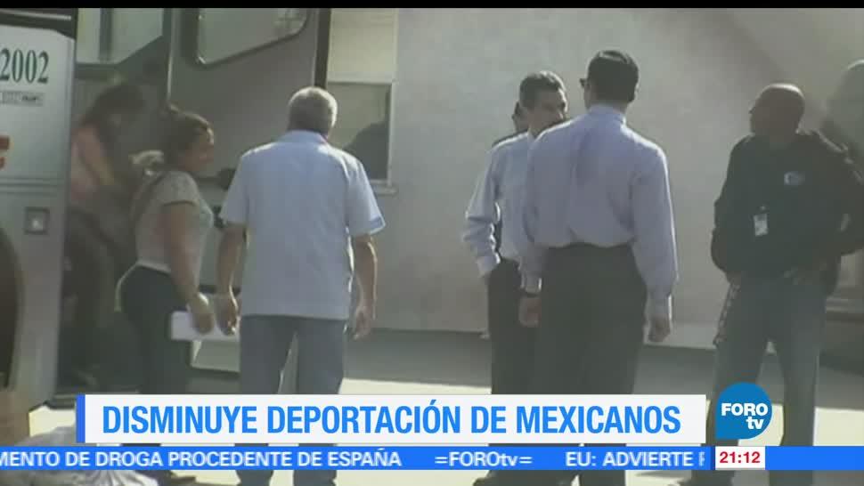 noticias, forotv, Disminuye, deportaciones, migrantes, mexicanos
