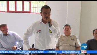 noticias, forotv, Juan Zepeda, visita, Xonacatlán y Texcoco, candidato del PRD