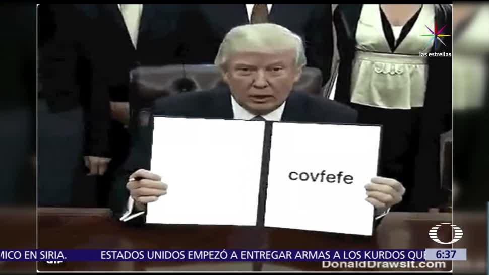 Donald Trump, palabra covfefe, Twitter, mensaje