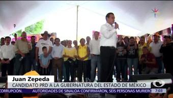 candidatos al gobierno, gobierno del Edomex, campaña, 4 de junio