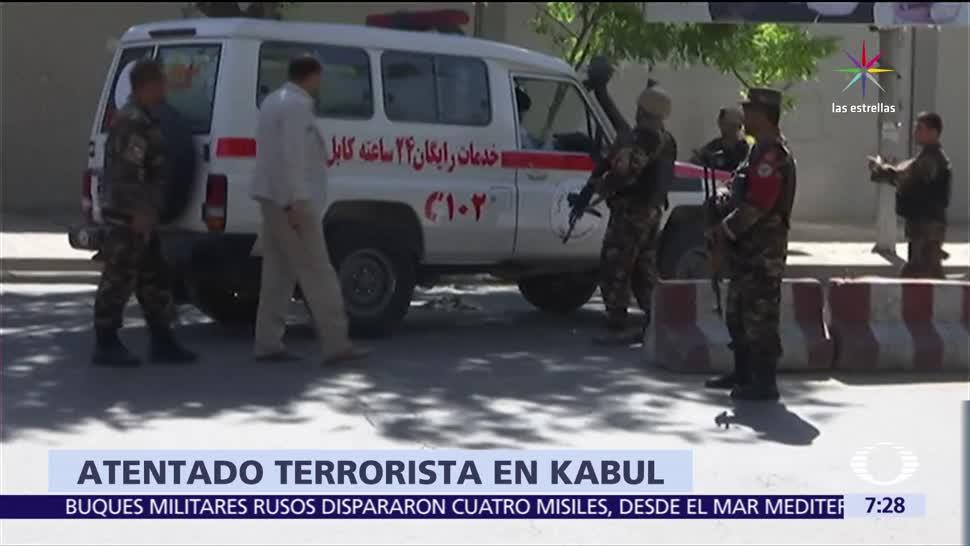 coche bomba, 80 muertos, 350 heridos, Palacio Presidencial de Kabul, Afganistán
