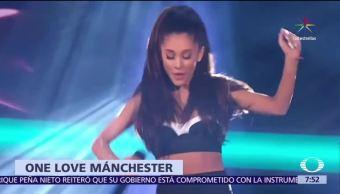 Ariana Grande, rendirá homenaje, víctimas del atentado, Manchester, concierto