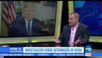 internacionalista Mauricio Meschoulam, cumbres, OTAN, G7, presidente Trump