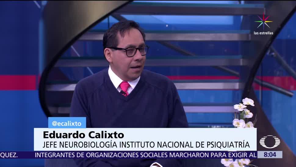 doctor Eduardo Calixto, Neurobiología, Instituto Nacional de Psiquiatría, videojuegos