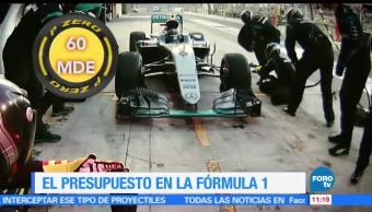 Eduardo Saint Martin, reportaje, presupuestos, Fórmula 1