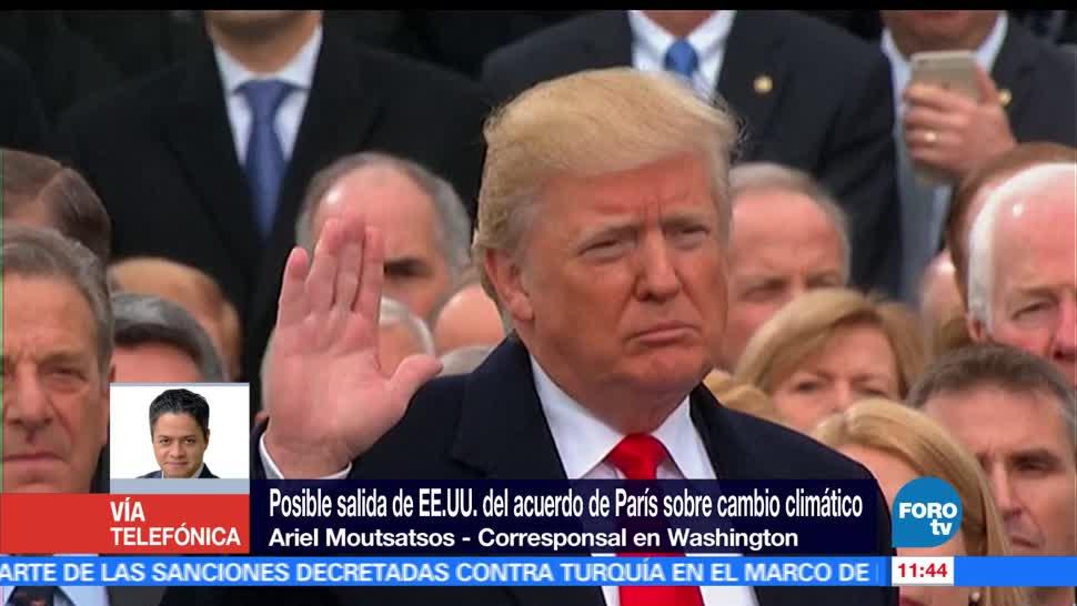 Ariel Moutsatsos, Donald Trump, EU, Acuerdo de París, cambio climático