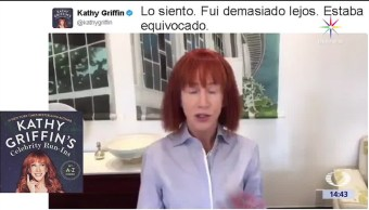 noticias, televisa, Katty Griffin, disculpa, trump, comediante