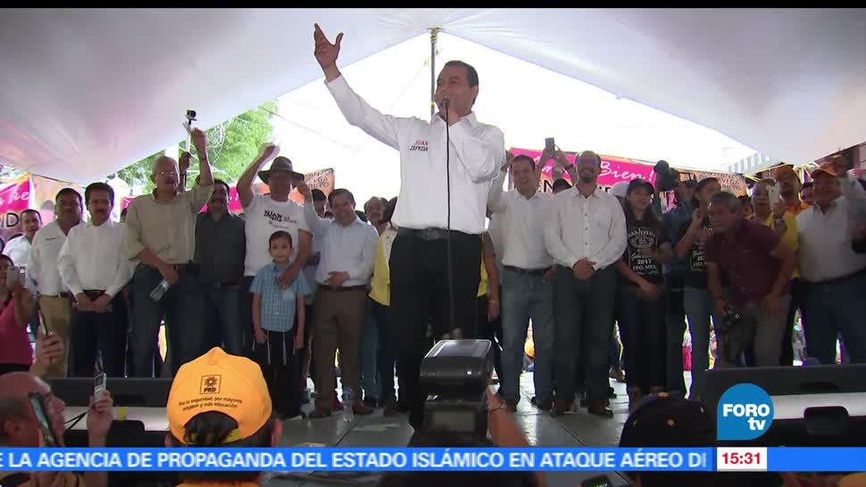 noticias, forotv, Juan Zepeda, asegura, lleva delantera, encuestas