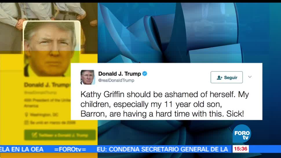 noticias, forotv, Cibernautas, burlan, Trump, error en Twitter