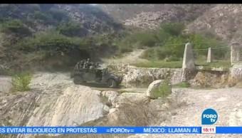 Ejército Mexicano, vigila, ductos de Pemex, Querétaro, robo gasolina, huachicoleros