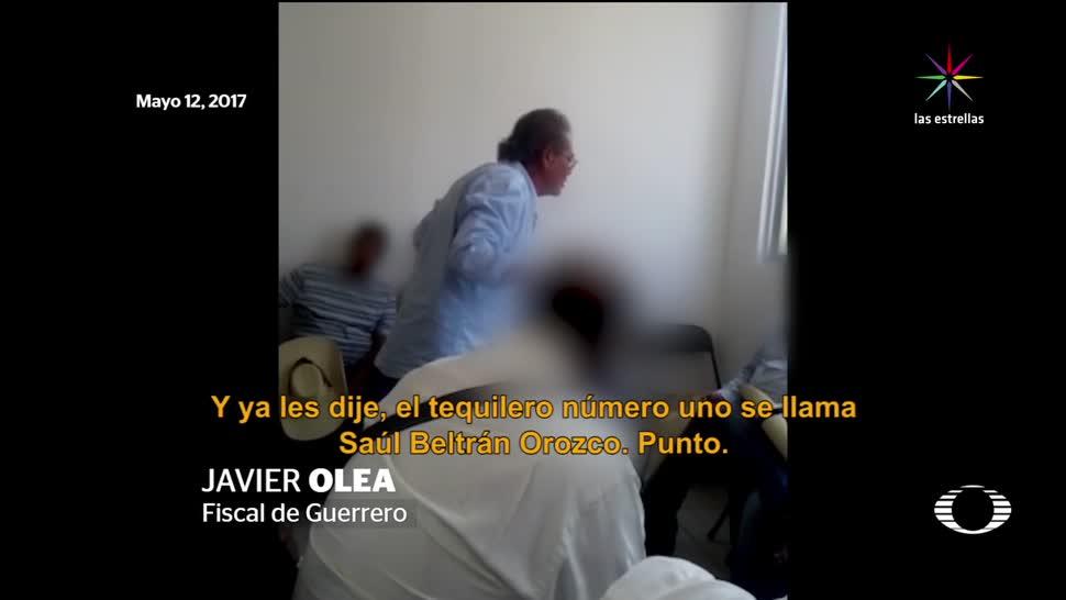 Diputado, PRI, líder, Los Tequileros, fiscla de guerrero, Saúl Beltrán