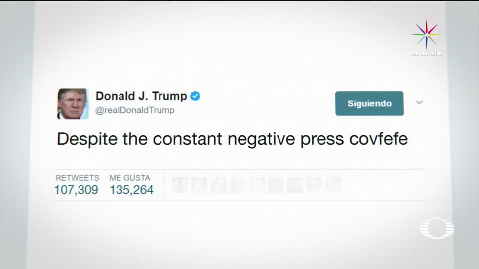 Covfefe, Trump, enloquece, redes sociales, tiwtter, palabra extraña