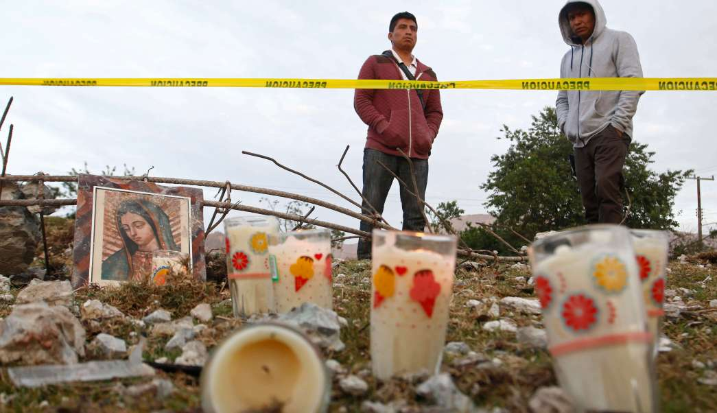 Explosión por pirotecnia en San Isidro, municipio de Chilchotla, Puebla. (EFE)