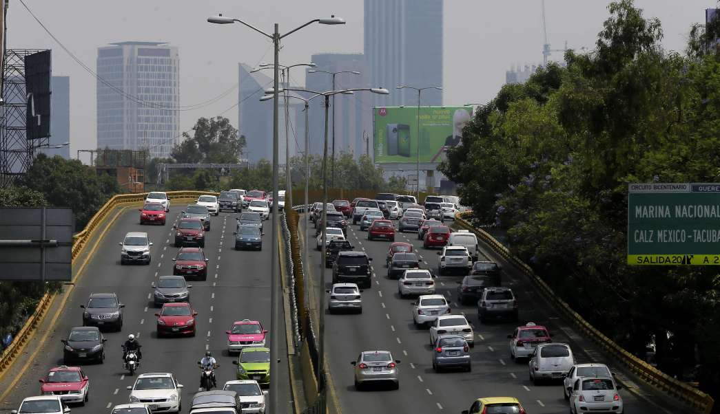 Tráfico y contaminación en la Ciudad de México