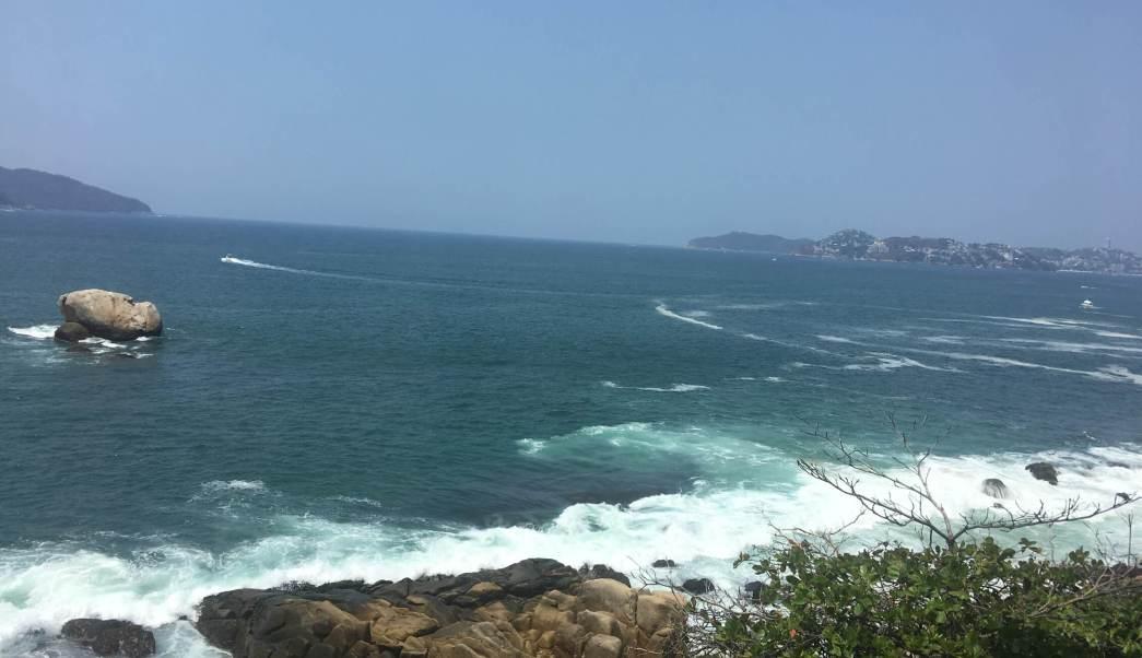 rachas de viento, oleaje elevado, costas de Guerrero, clima