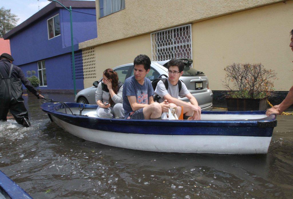 Ciudad México, lluvias, inundaciones, clima